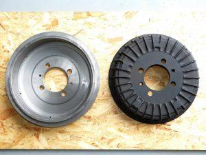 Bremstrommeln / brake drums 3500GT / Vignale Spyder